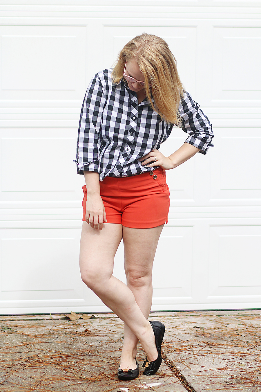 Falling for High Waisted Shorts