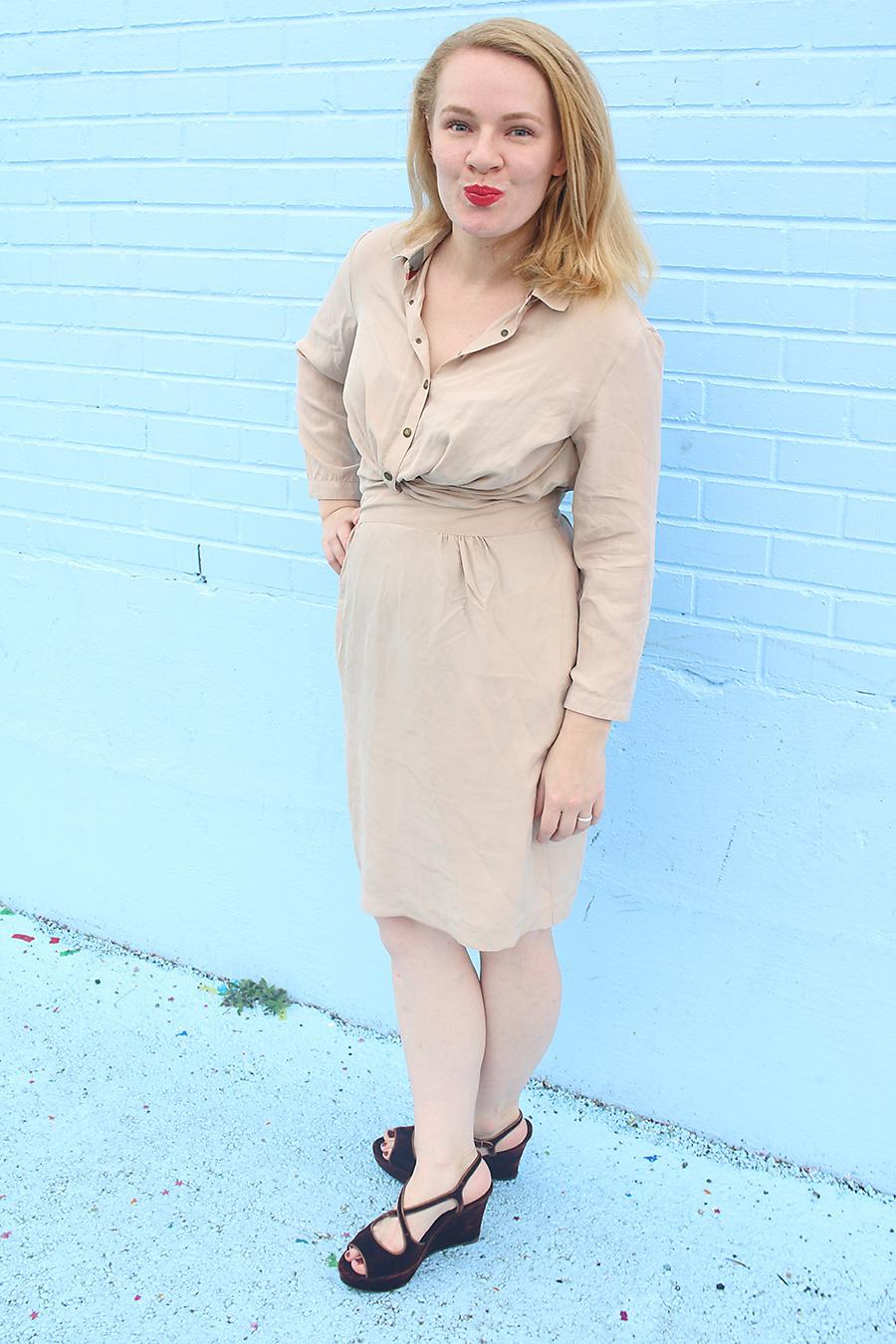 Silk Dress + Velvet Platforms | Ultimate Fall 2016 Trends