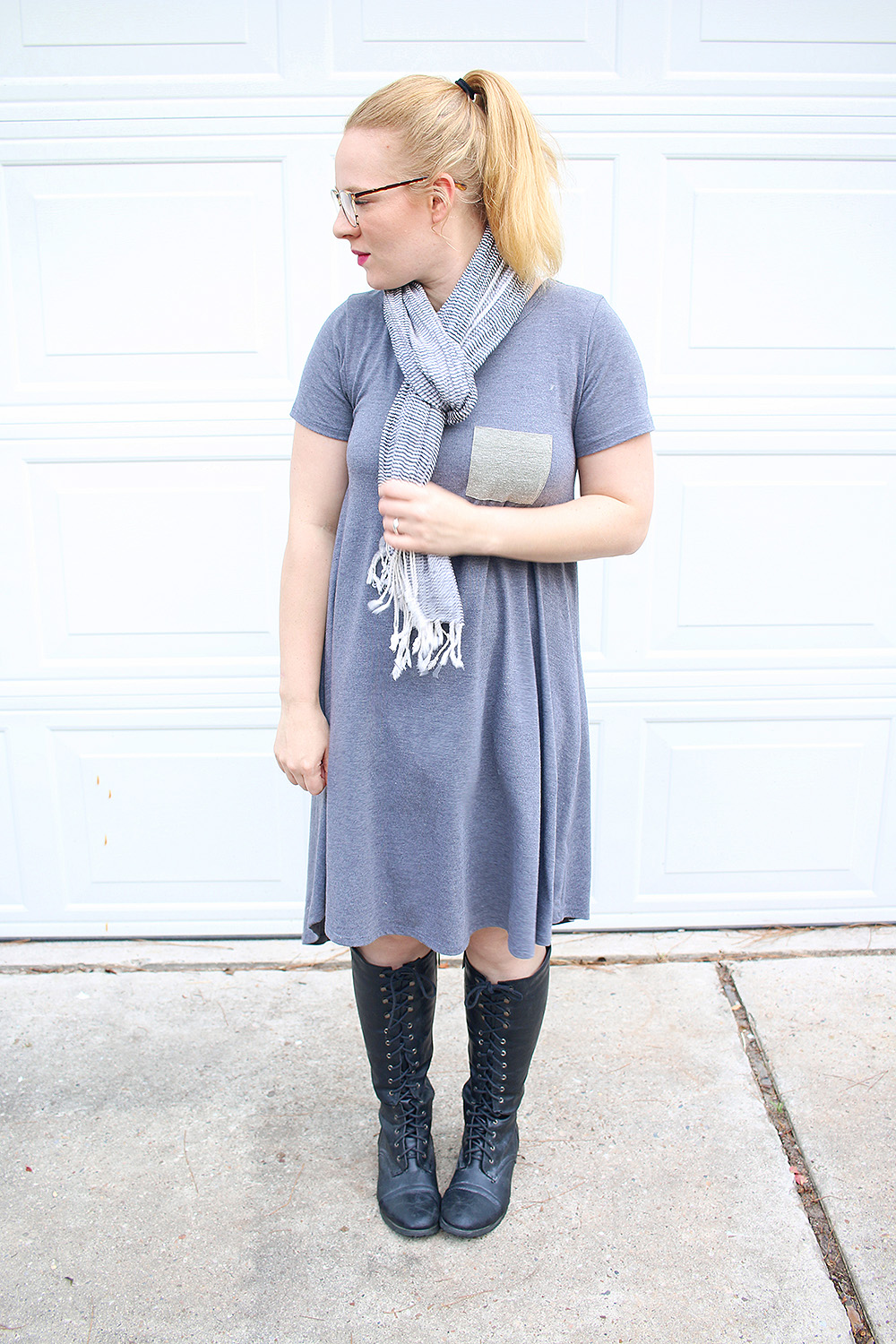 Lularoe Carly Dress Boots