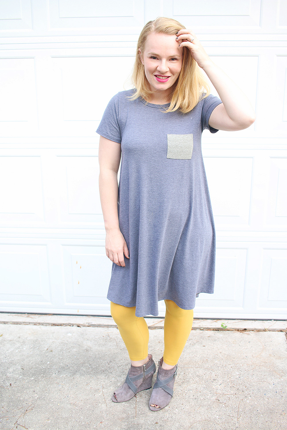 Lularoe Carly Dress & Booties