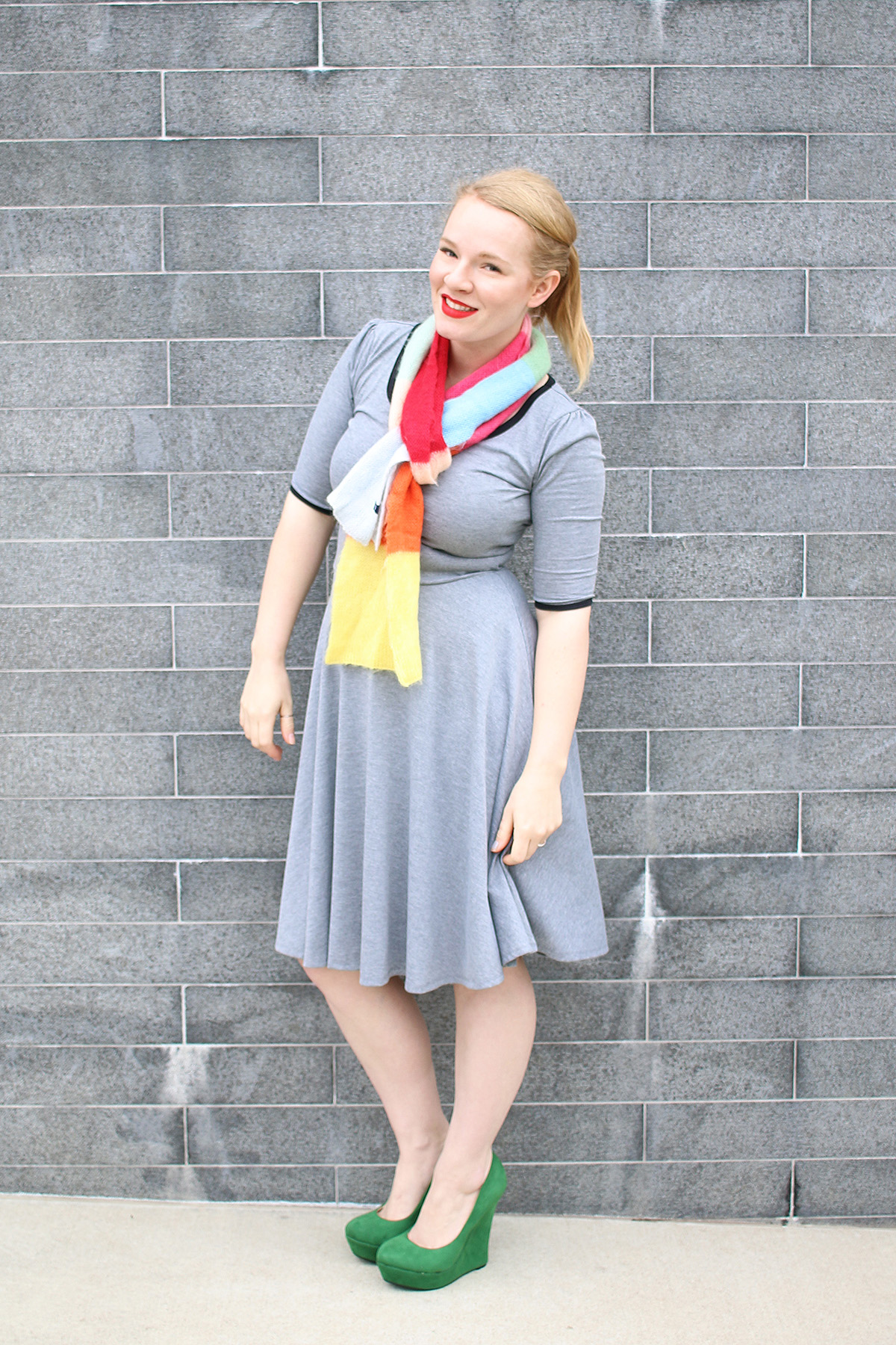 How to wear LuLaRoe Nicole Dress