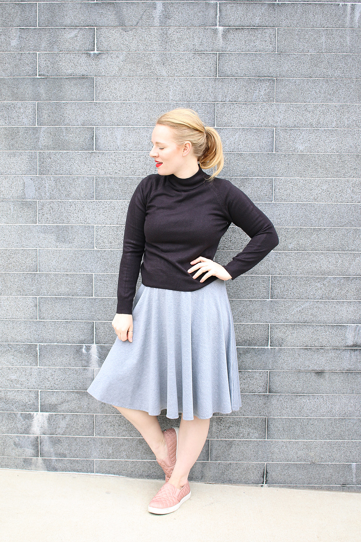 Layering LuLaRoe Nicole Dress