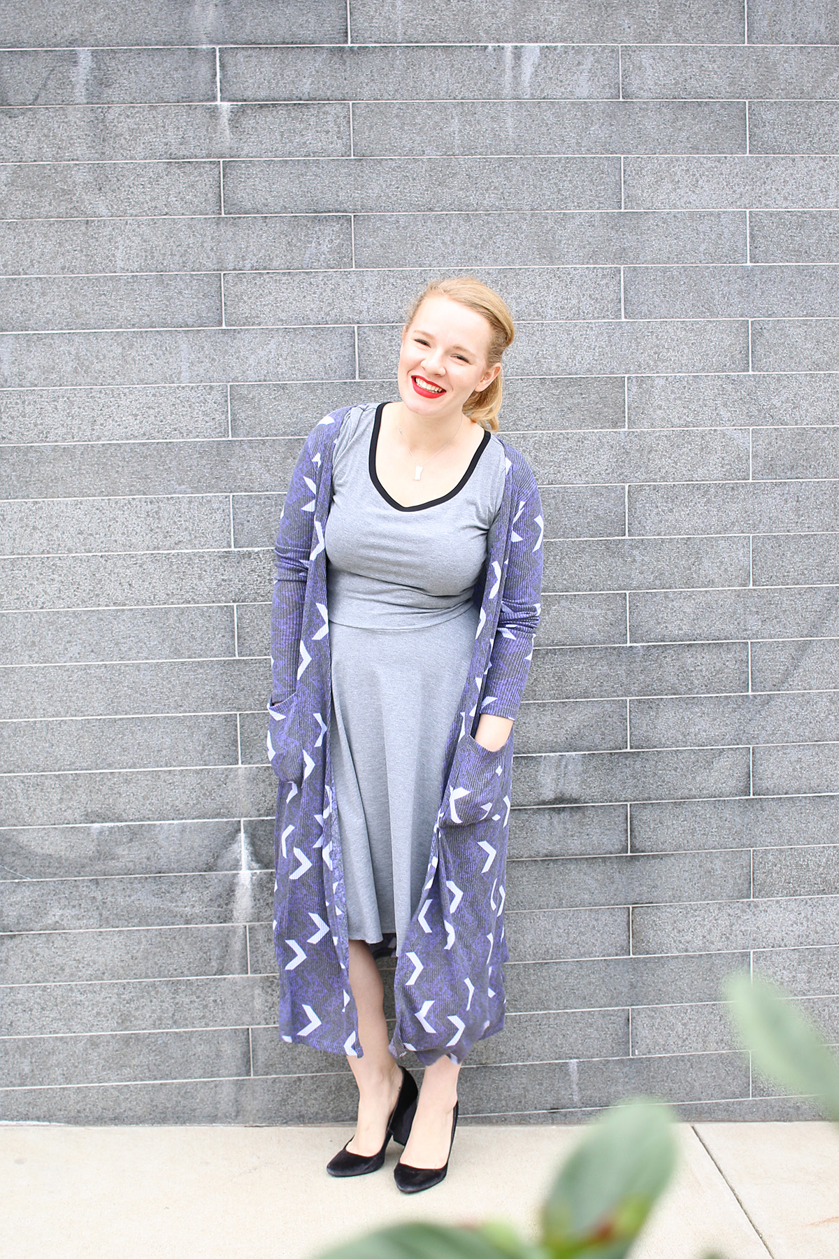 LuLaRoe Nicole Dress with Duster