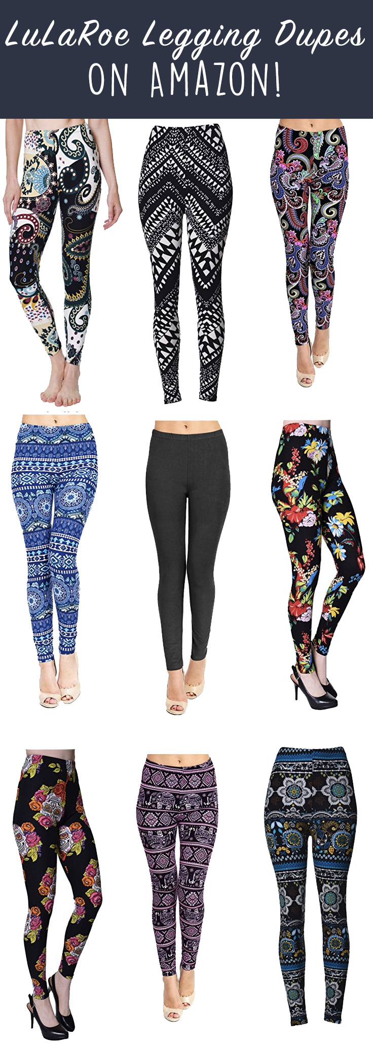 da7fbf8f0e127 So finding a dupe for something that seems a tad expensive is always fun!  And I wasn't even looking for a LuLaRoe legging dupe, they sort of just  found me!