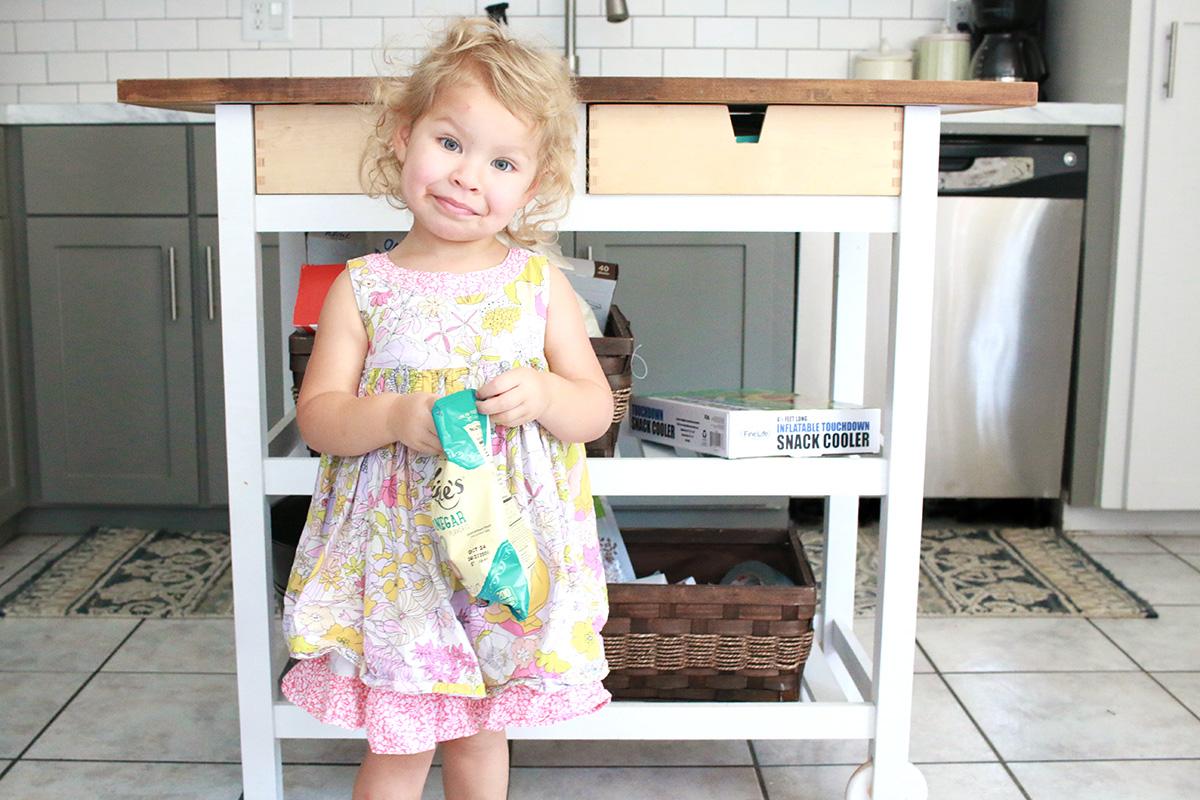 Ikea FÖRHÖJA Kitchen Cart Hack DIY