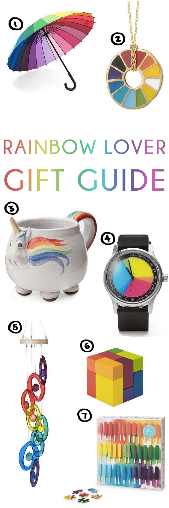 Gift Guide For The Rainbow Lover In Your Life