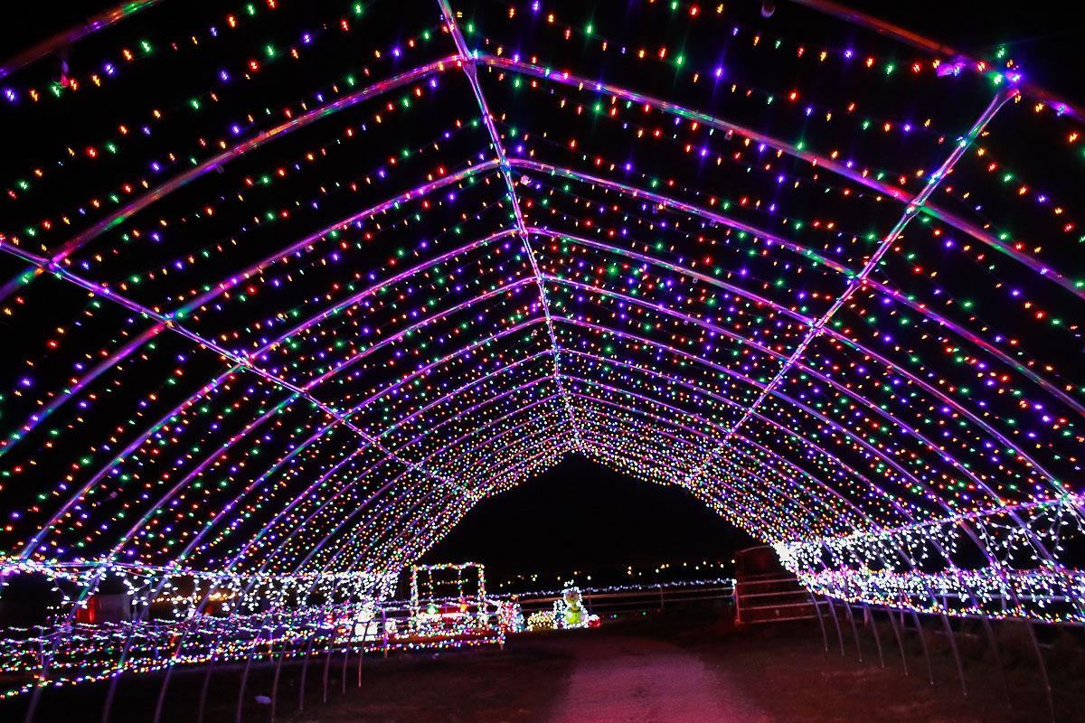 Christmas lights in Amarillo TX