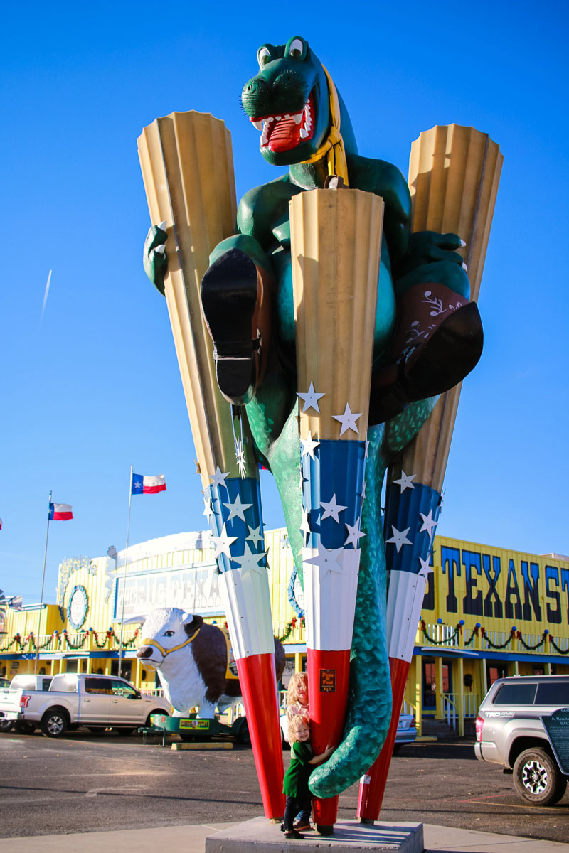 Big Texan in Amarillo TX