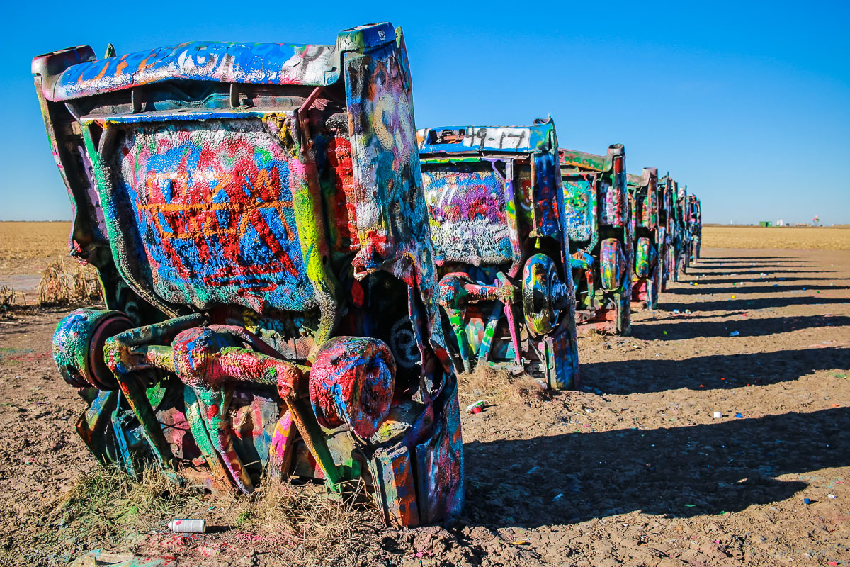 Cadillac Ranch in Amarillo TX