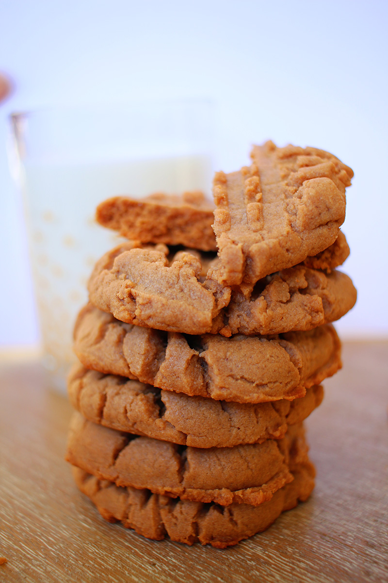 Dark Chocolate Peanut Butter Cookies | PB Crave Cookies