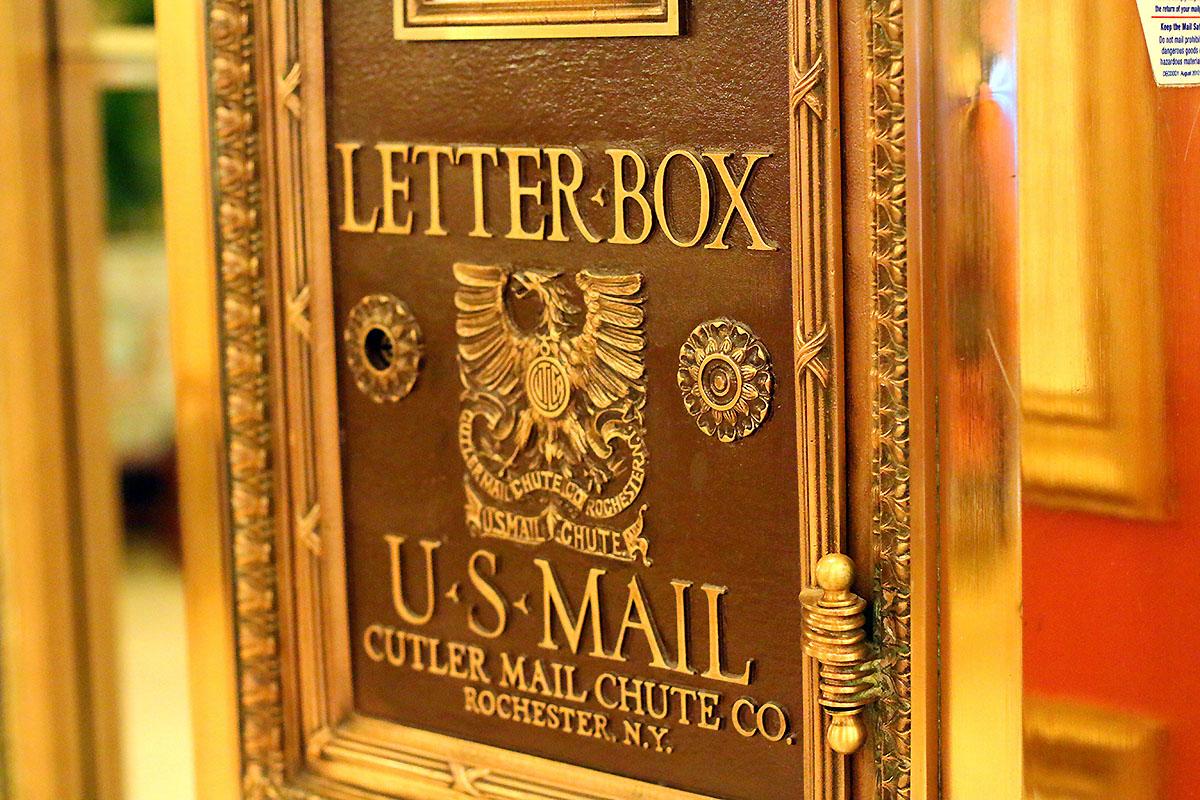 Le Pavillion New Orleans MailBox