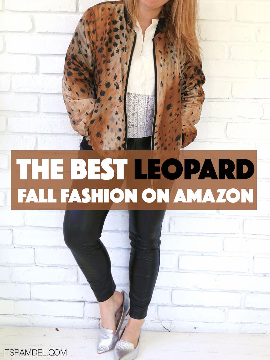 69fc15b56ee The Best Leopard Fall Fashion On Amazon
