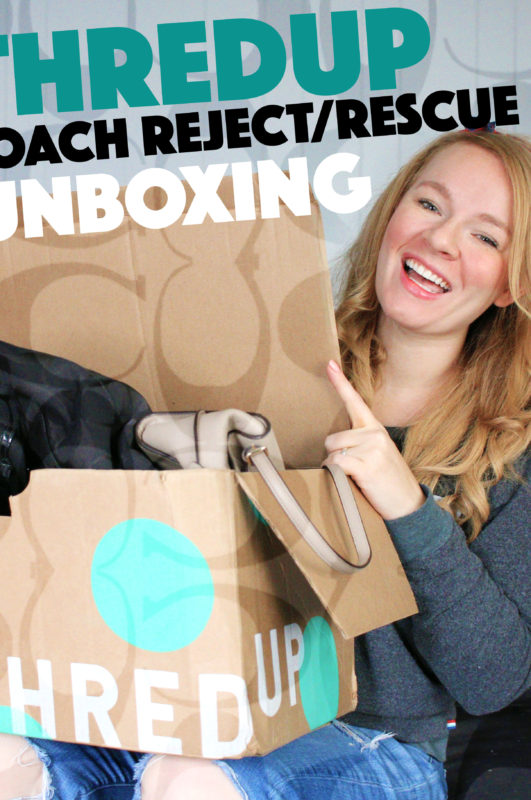 ThredUP Coach Reject/Rescue Unboxing For Resell