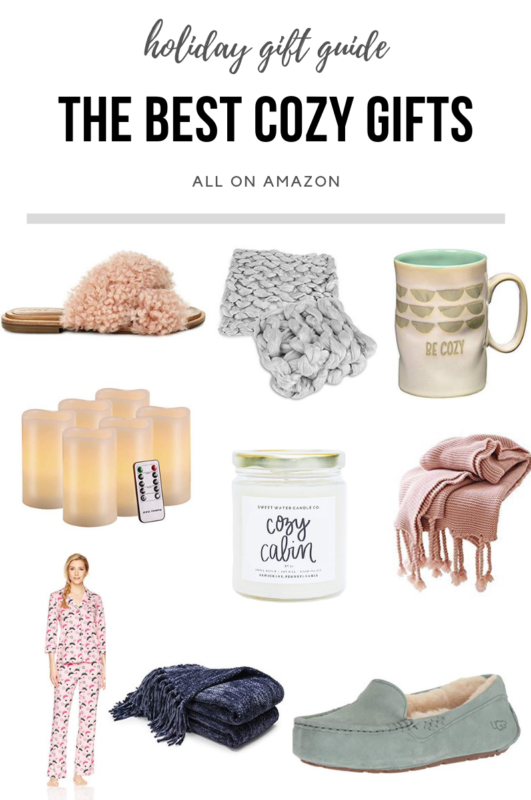 The Best Cozy Gifts To Give On Amazon!