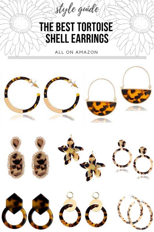 The Best Tortoise Shell Earrings on Amazon!