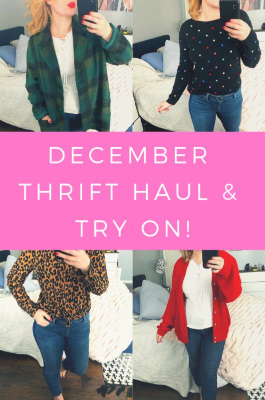 December Thrift Haul & Try On!