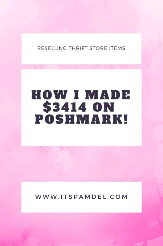 How I Made $3414 on Poshmark!!