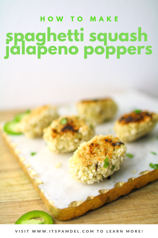 Spaghetti Squash Jalapeno Poppers Recipe