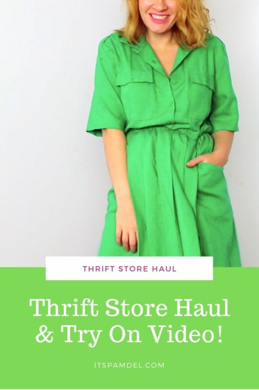 THRIFT HAUL + TRY ON VIDEO