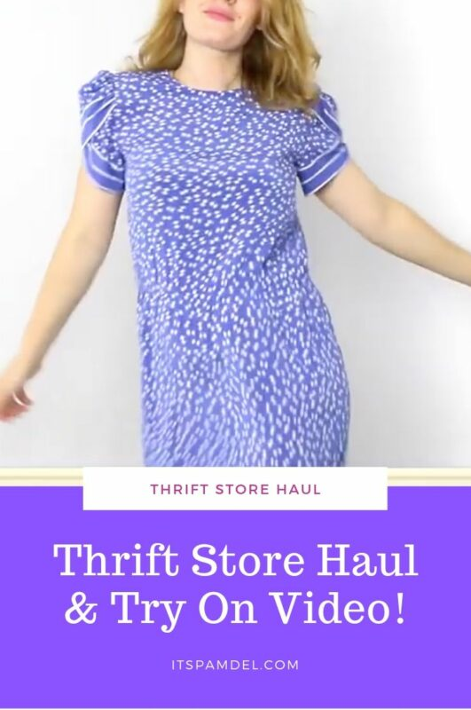 THRIFT STORE HAUL & TRY ON // $2 OUTLET