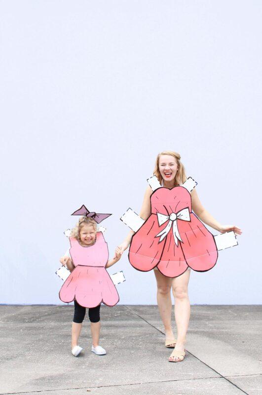 Last Minute Costume: DIY Paperdoll Boxtume Costumes