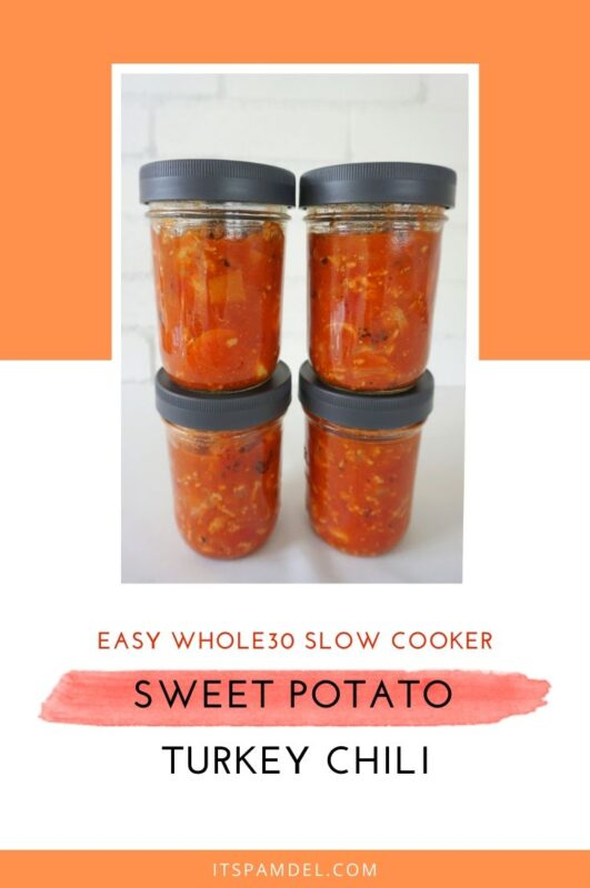 Whole30® Sweet Potato Turkey Chili + The Best Meal Prep Containers