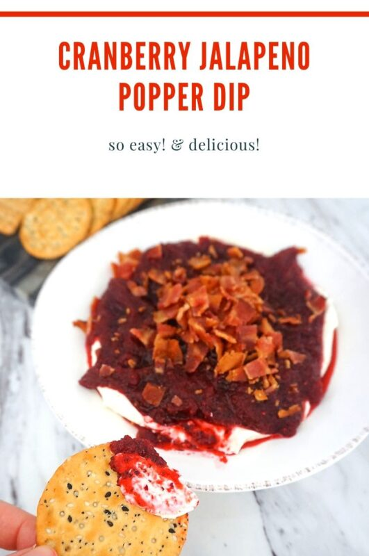 Cranberry Jalapeno Popper Dip Recipe