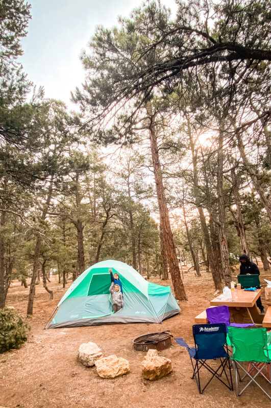 Family Friendly Grand Canyon Camping & Hiking Trip