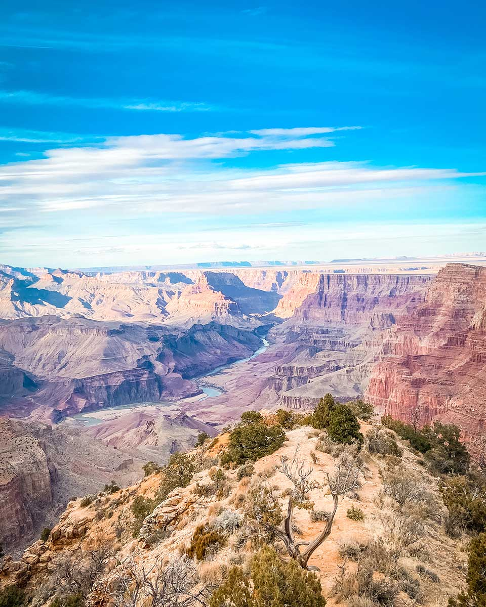 grand canyon in march
