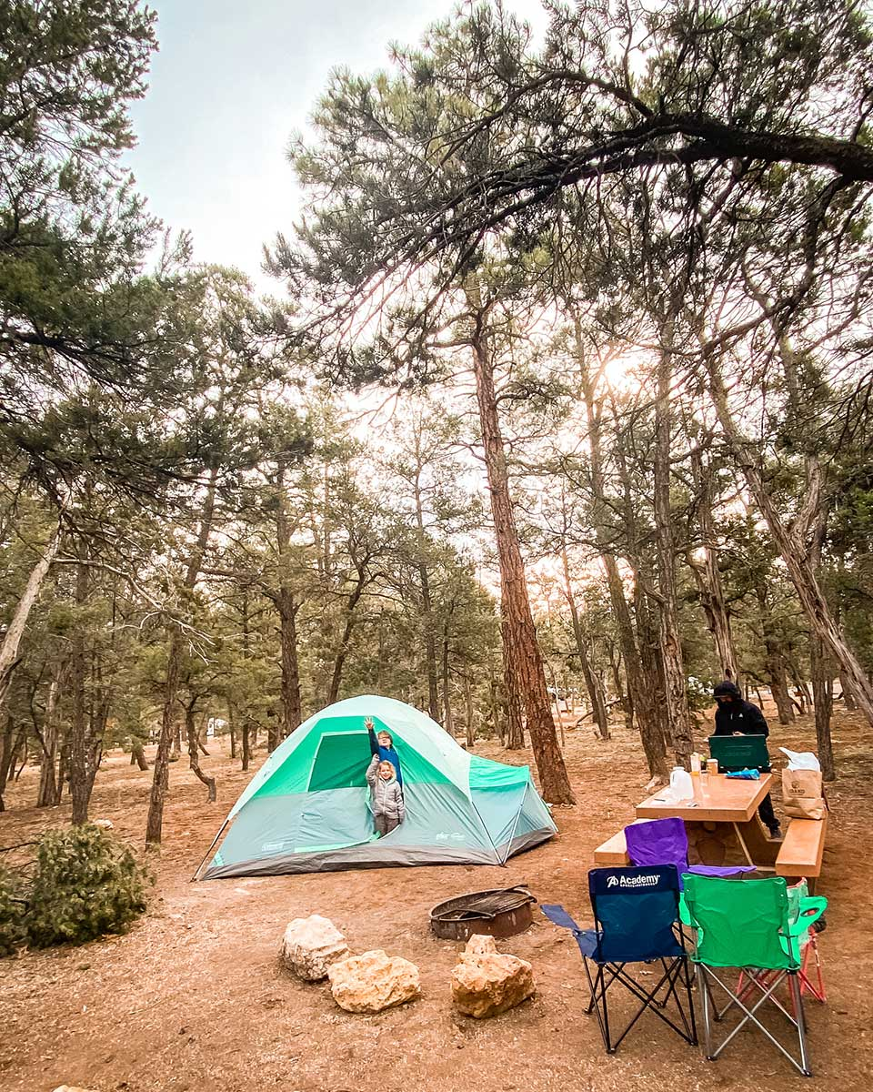 grand canyon mather campgrounds in march