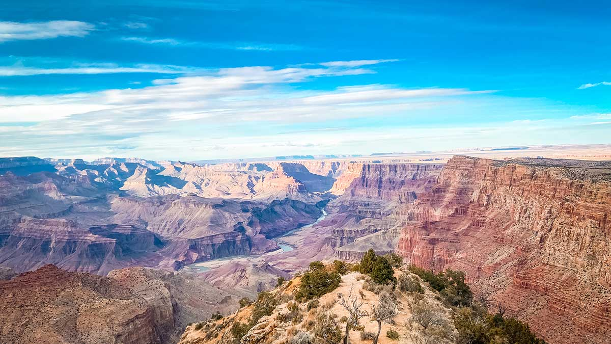 grand canyon view march