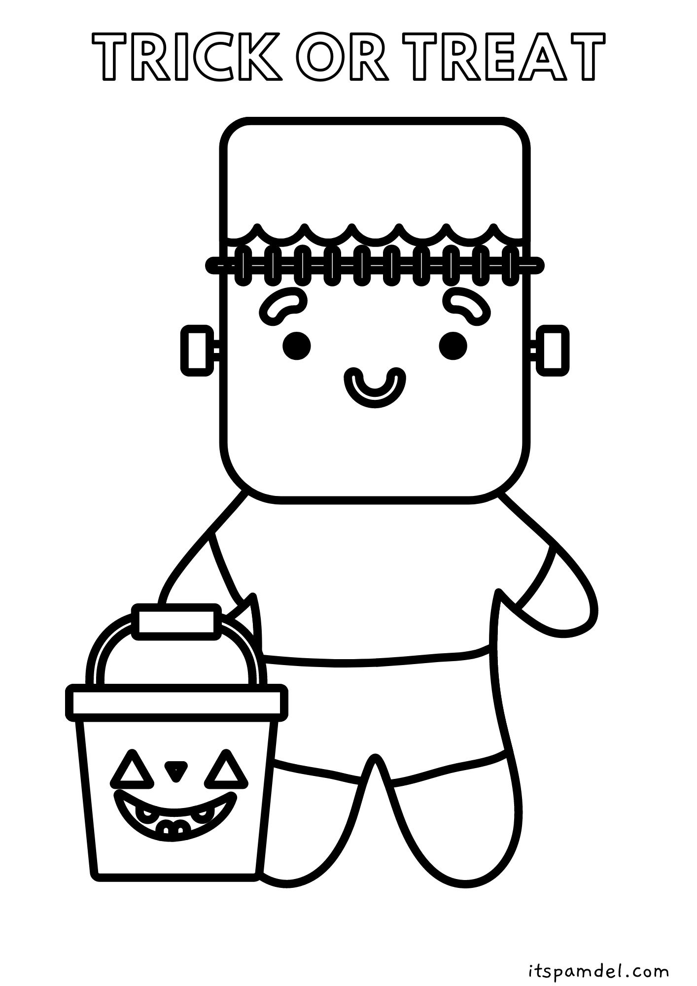 free printable halloween coloring pages for kids it s pam del free printable halloween coloring